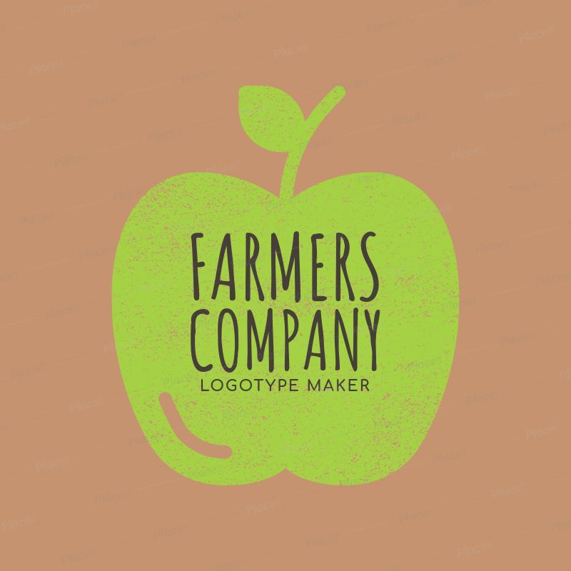 Farmers Market Logo Maker - Stamp Graphics a1125