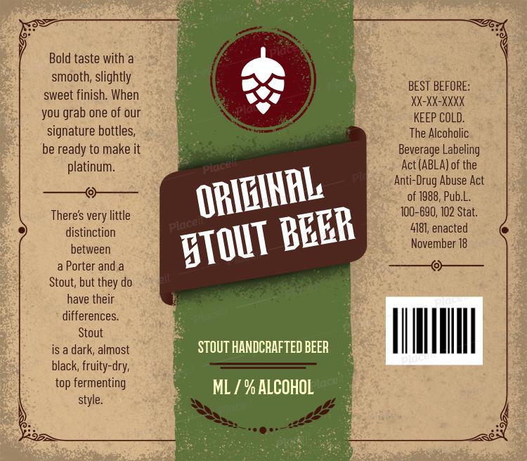 Beer Label Maker 759Foreground Image