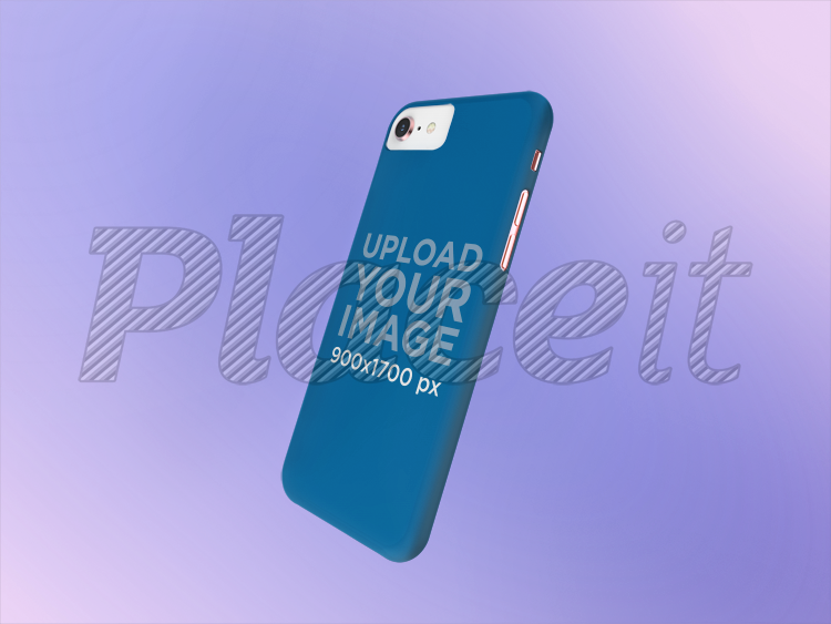cfe0e6214df13a Phone Case Mockup with a Gradient Background 23152Foreground Image
