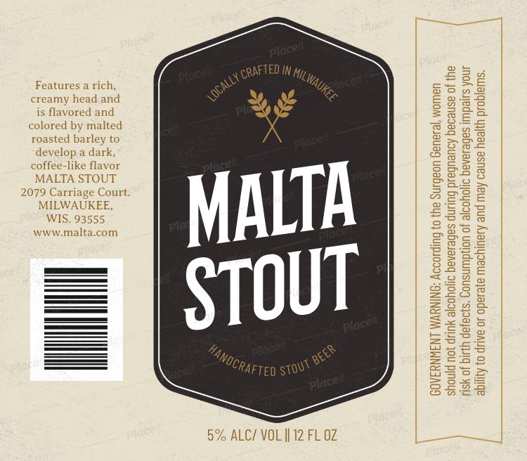 Beer Label Generator 766