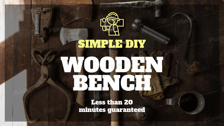 Youtube Thumbnail Maker For Carpentry Diys 890