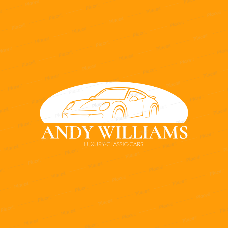 Placeit Logo Template For Luxury Car Dealership