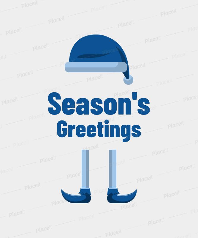 Xmas T-Shirt Design Maker for Season's Greetings 829e