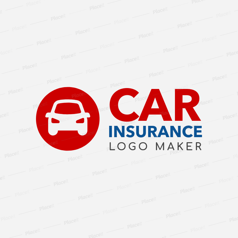 Placeit Online Logo Maker For Car Insurance Company