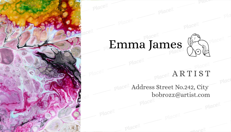 Placeit Painter Business Card Template - Painter business card template