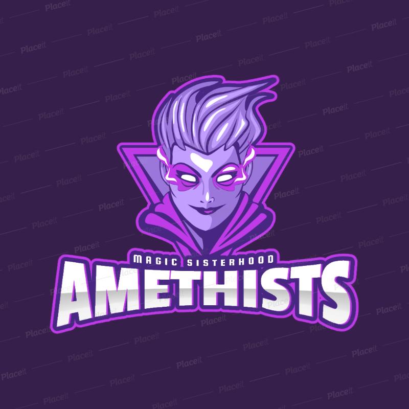 Intense Fantasy Gaming Team Logo Generator 1741c