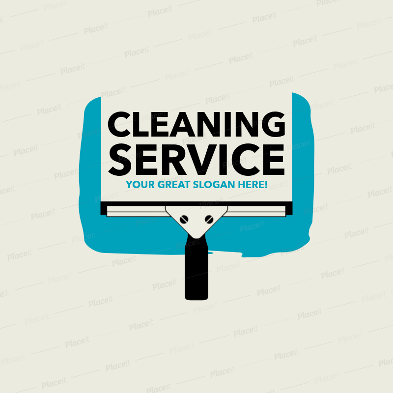 residential cleaning services logo maker 1446foreground image