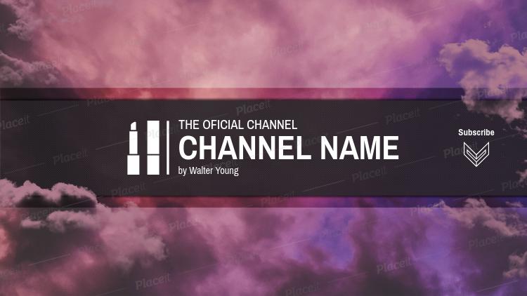 1399b22769b Official Beauty Guru Channel Banner Template 449