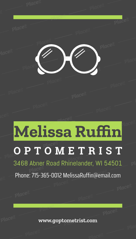 Placeit business card maker for optometrists business card maker for optometrists 172a foreground image colourmoves