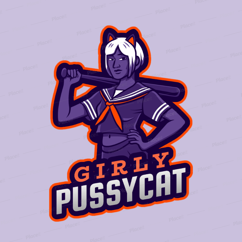 Gaming Logo Maker With A Seductive Female Graphic In Reference To Free Fire Characters 2634k