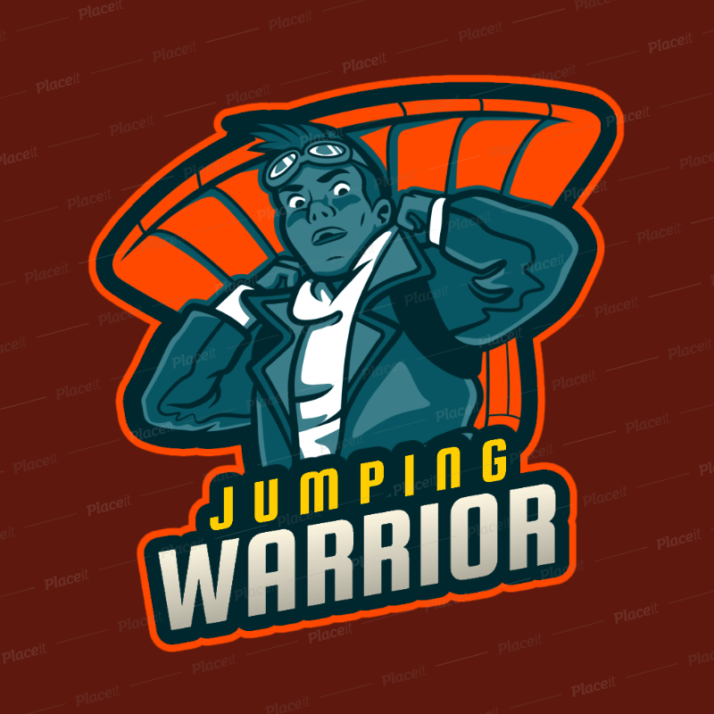 Gaming Logo Template For Free Fire Players 2634g