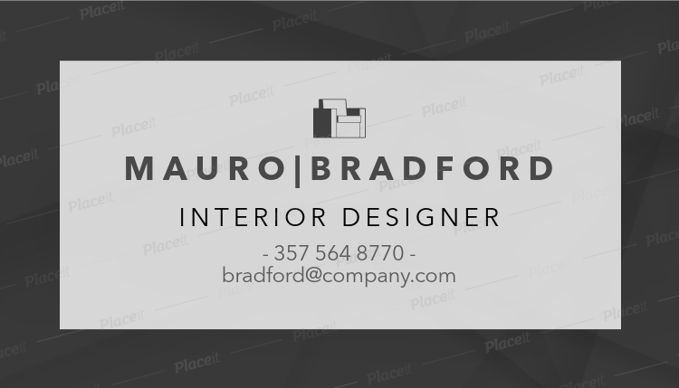 Placeit interior designer business card template with minimalist style interior designer business card template with minimalist style 243dforeground image colourmoves