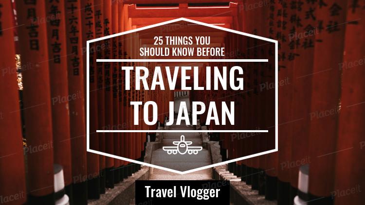 Youtube Thumbnail Maker for a Travel Vlog 898
