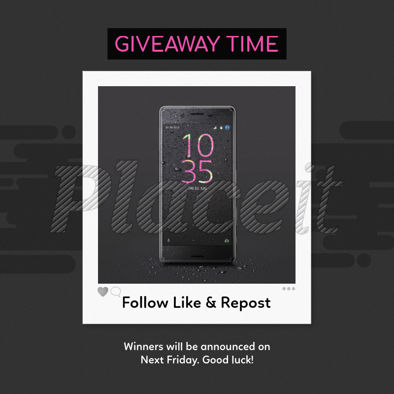 Instagram Giveaway Post Template 643d