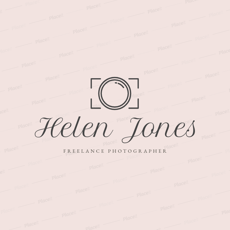 Freelance Photographer Logo Maker 1196f