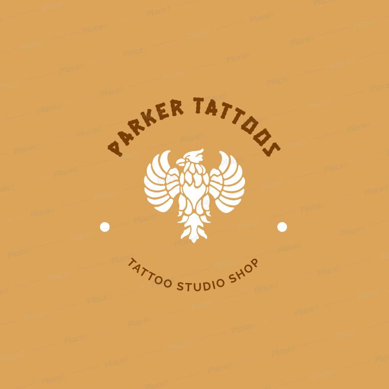 Placeit Tattoo Artist Logo Maker