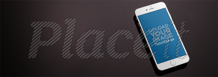 Placeit Mockup Template Of An Iphone Lying On A Marble Table