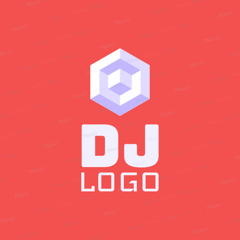 Placeit Music DJ Logo Maker