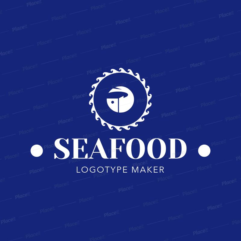 Online Logo Maker For Greek Seafood Restaurants 1218b